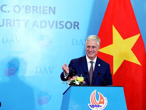 Cố vấn an ninh quốc gia Mỹ: Dù ai là tổng thống, Việt - Mỹ vẫn bền chặt - Ảnh 1.
