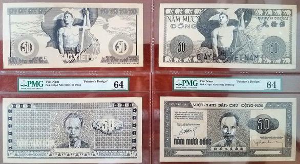 Trình diễn hàng độc trong lịch sử tiền giấy Việt Nam - Ảnh 4.