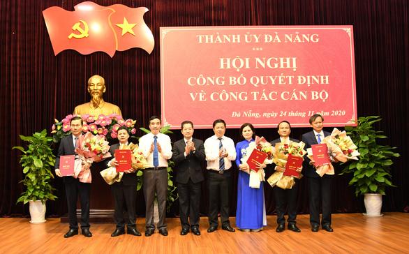 6 ủy viên Ban thường vụ Thành ủy Đà Nẵng nhận nhiệm vụ mới - Ảnh 1.