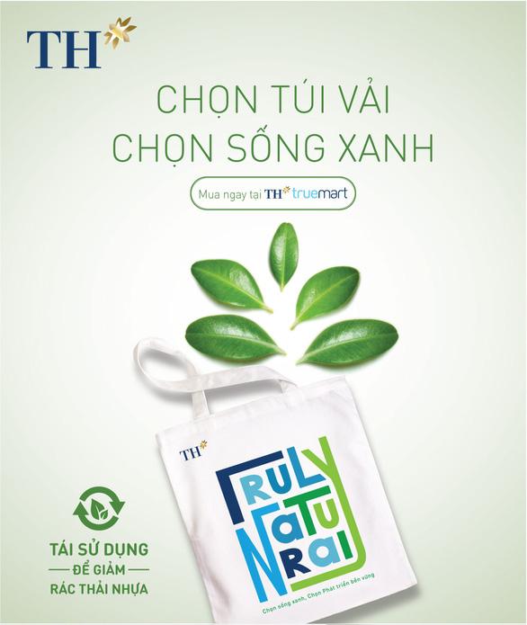 Túi vải canvas TH - Giải pháp xanh giảm thiểu rác thải nhựa - Ảnh 4.