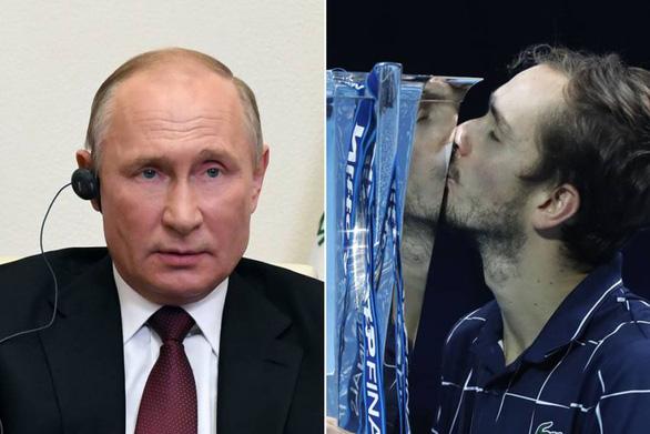 Điểm tin thể thao tối 24-11: Tổng thống Putin chúc mừng tay vợt Daniil Medvedev - Ảnh 1.