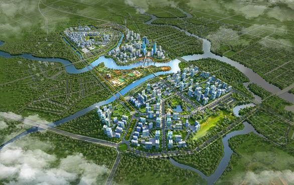 Thành phố thu nhỏ 350ha tạo sức bật cho vùng đô thị Nam Sài Gòn - Ảnh 2.
