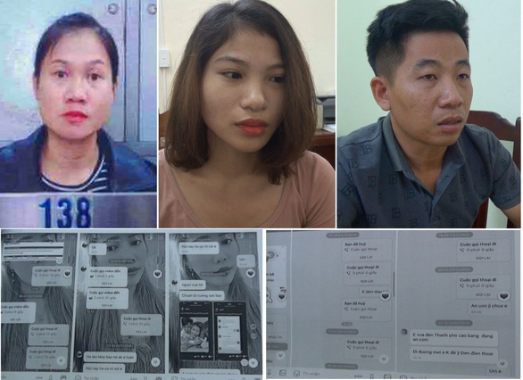 """Bắt giữ ba nghi phạm trong đường dây """"mua bán người"""" sang Trung Quốc - Ảnh 1."""