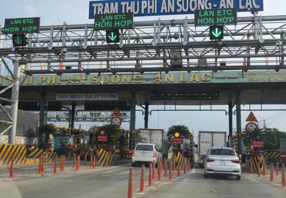 Từ 28-11, TP.HCM kiểm tra tải trọng xe tại trạm thu phí An Sương - An Lạc - Ảnh 1.