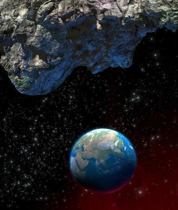 Tiểu hành tinh khổng lồ sắp bay sượt qua Trái đất - Ảnh 1.