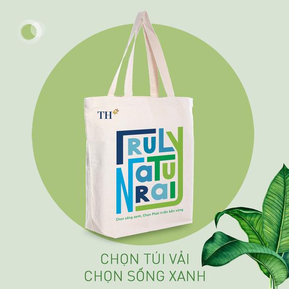 Túi vải canvas TH - Giải pháp xanh giảm thiểu rác thải nhựa - Ảnh 1.