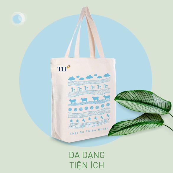 Túi vải canvas TH - Giải pháp xanh giảm thiểu rác thải nhựa - Ảnh 2.