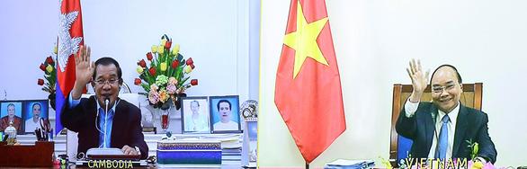 Việt Nam, Campuchia nhất trí tiếp tục tăng cường quan hệ tin cậy, gắn bó - Ảnh 1.