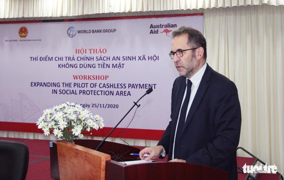 Ngân hàng Thế giới và Chính phủ Úc sẽ hỗ trợ Việt Nam thanh toán không dùng tiền mặt - Ảnh 1.
