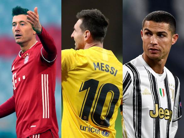 Điểm tin thể thao tối 25-11: FIFA tiết lộ ứng viên Quả bóng vàng có Messi, Ronaldo, Lewandowski - Ảnh 1.