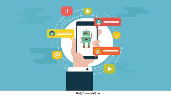Chatbot - hỗ trợ đắc lực cho người kinh doanh - Ảnh 2.
