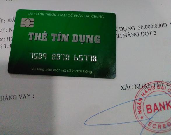 Rộ chiêu lừa phát hành thẻ tín dụng giả để chiếm đoạt tiền - Ảnh 1.