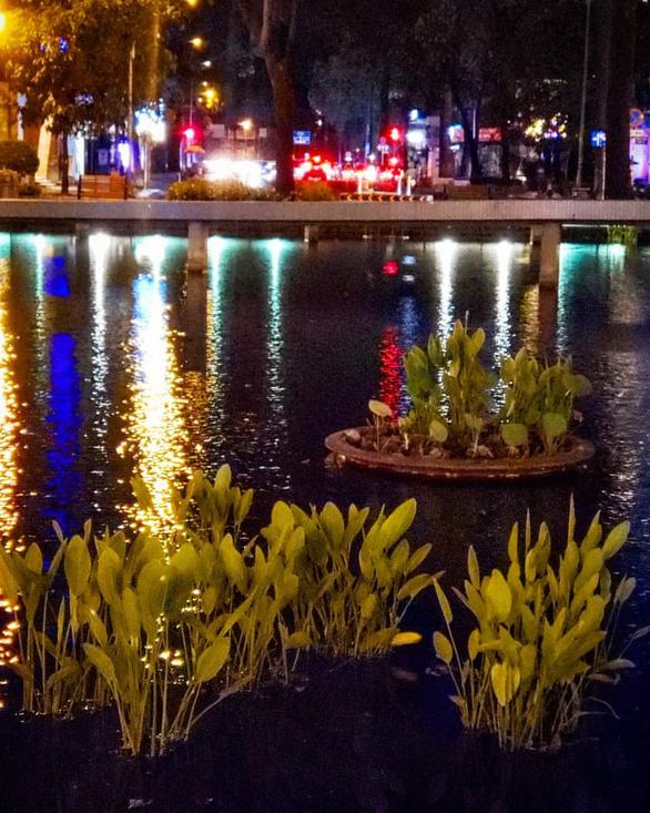 Hồ Con Rùa thành phố đi bộ, đường Nguyễn Thượng Hiền thành phố ăn vặt - Ảnh 3.