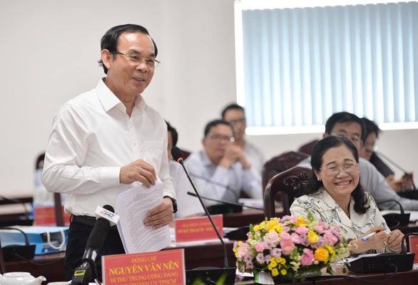 Bí thư Nguyễn Văn Nên: Mô hình hiến đất mở hẻm của quận 3 cần nhân lên