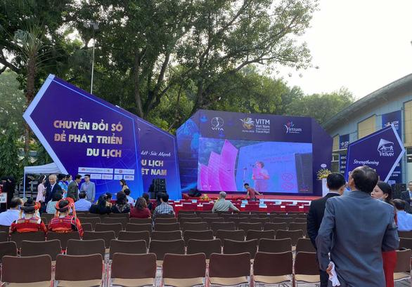 Công ty Vịnh Thiên Đường tham dự Hội chợ Du lịch Quốc tế Việt Nam 2020 - Ảnh 1.