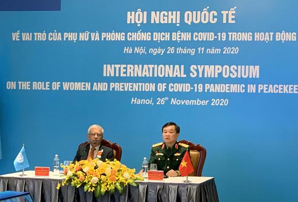 Việt Nam sẽ tăng số lượng nữ quân nhân tham gia hoạt động gìn giữ hòa bình - Ảnh 1.