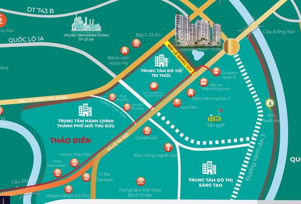 Trục đường Đông Tây sẽ trở thành cung đường đắt giá bậc nhất cửa ngõ Đông Sài Gòn - Ảnh 1.