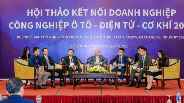 Tăng kết nối doanh nghiệp ôtô, điện tử, cơ khí vào chuỗi cung ứng - Ảnh 2.