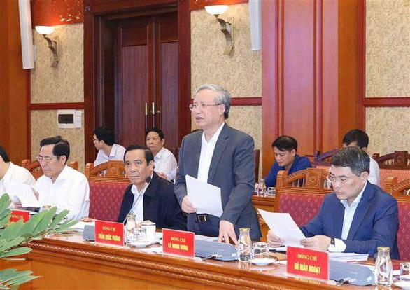 Phiên họp thứ 5 của Tiểu ban tổ chức phục vụ Đại hội XIII của Đảng - Ảnh 1.