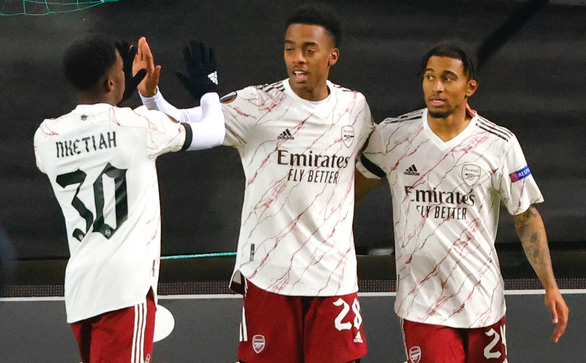 Thắng dễ ở Na Uy, Arsenal giành vé đi tiếp với số điểm tuyệt đối - Ảnh 1.