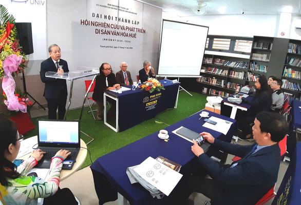 Lập Hội Nghiên cứu và phát triển di sản văn hóa Huế - Ảnh 4.
