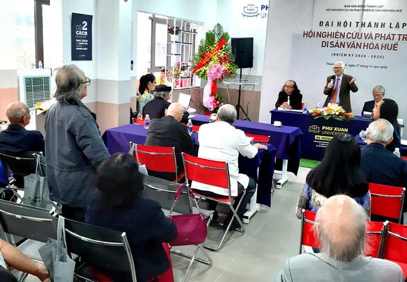 Lập Hội Nghiên cứu và phát triển di sản văn hóa Huế - Ảnh 2.
