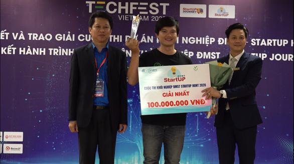 Nền tảng thương mại điện tử Nông sản dành giải nhất cuộc thi khởi nghiệp sáng tạo Startup Hunt 2020 - Ảnh 2.