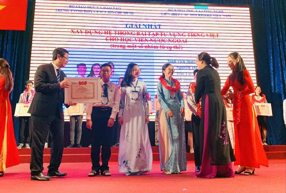 Công bố 10 công trình đạt giải thưởng sinh viên nghiên cứu khoa học năm 2020 - Ảnh 1.