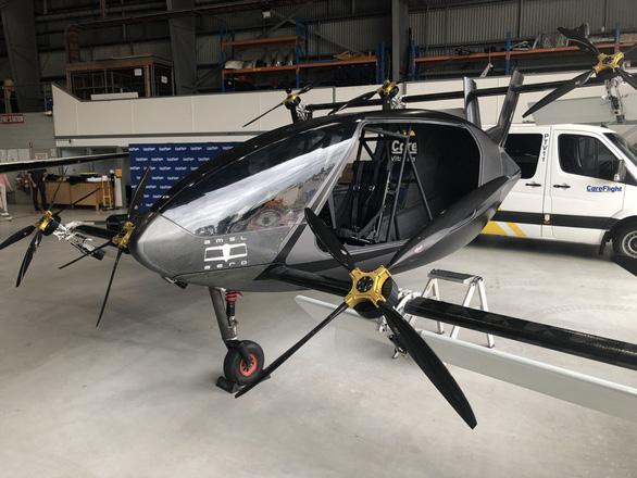Xe cứu thương trên không chạy bằng điện, bay 300 km/h - Ảnh 1.