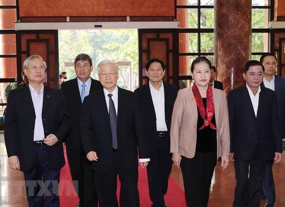 Tổng bí thư, Chủ tịch nước Nguyễn Phú Trọng dự hội nghị về công tác kiểm tra, giám sát - Ảnh 1.