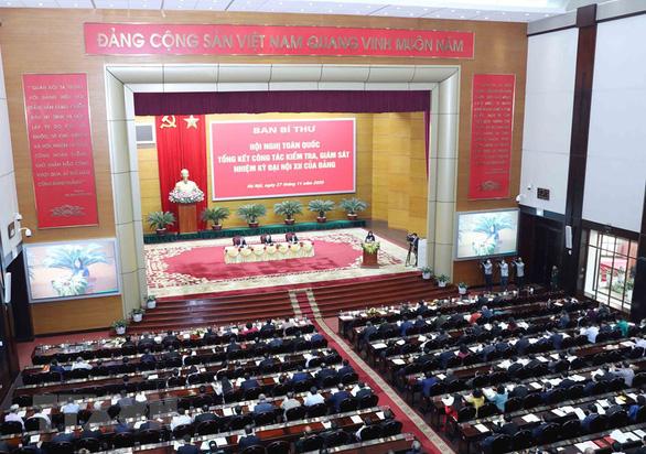 Tổng bí thư, Chủ tịch nước Nguyễn Phú Trọng dự hội nghị về công tác kiểm tra, giám sát - Ảnh 2.