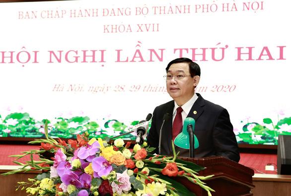 Bí thư Hà Nội Vương Đình Huệ: 'Đổi mới tư duy để phát triển, không quyền anh, quyền tôi' - Ảnh 1.