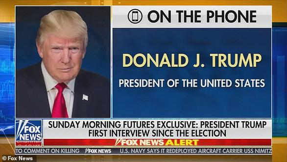 Ông Trump lần đầu trả lời phỏng vấn sau bầu cử, tuyên bố tiếp tục đi kiện - Ảnh 2.
