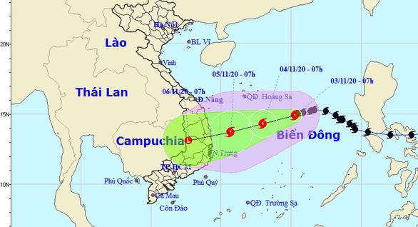 Bão số 10 tăng cấp trở lại khi đến gần Quảng Ngãi - Khánh Hòa, vì sao? - Ảnh 1.