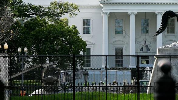Giới chức Mỹ lên phương án bảo vệ an ninh Nhà Trắng trước giờ G - Ảnh 1.