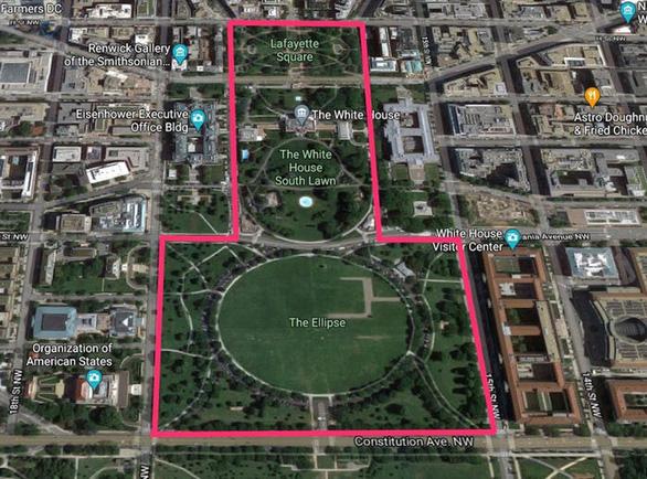 Giới chức Mỹ lên phương án bảo vệ an ninh Nhà Trắng trước giờ G - Ảnh 2.