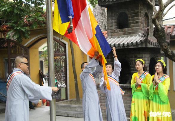 Lễ trao cờ Tổ quốc kỷ niệm 39 năm thành lập Trung ương Giáo hội Phật giáo Việt Nam - Ảnh 4.