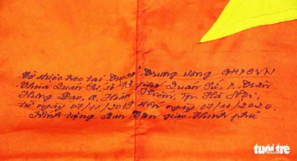 Lễ trao cờ Tổ quốc kỷ niệm 39 năm thành lập Trung ương Giáo hội Phật giáo Việt Nam - Ảnh 2.