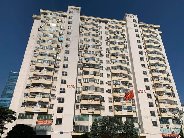 Thang máy rơi tự do từ tầng 5 chung cư ở Hà Nội, 2 người nhập viện - Ảnh 2.