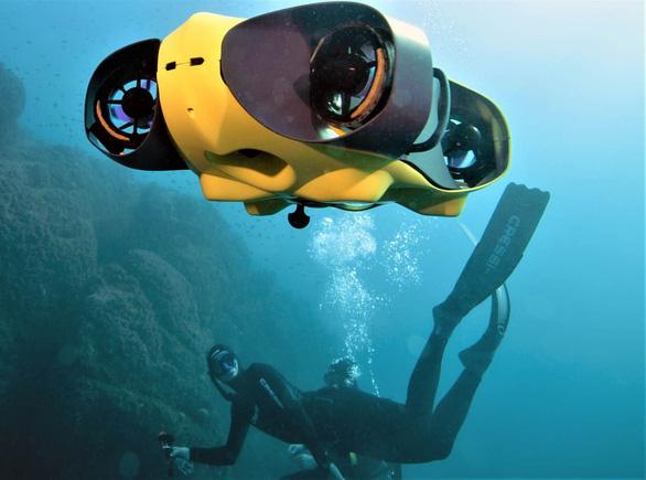 Thiết bị tự hành dưới nước giúp kiểm tra đập thủy điện, tàu thuyền - Ảnh 1.