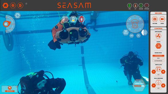 Thiết bị tự hành dưới nước giúp kiểm tra đập thủy điện, tàu thuyền - Ảnh 2.