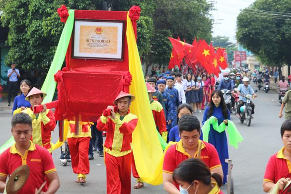 Đình thần Linh Đông tiếp nhận bằng xếp hạng di tích quốc gia - Ảnh 2.