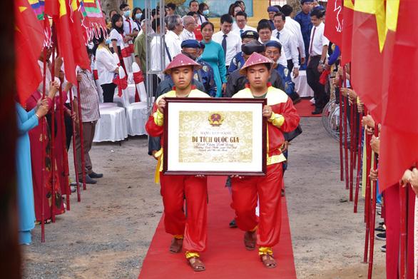 Đình thần Linh Đông tiếp nhận bằng xếp hạng di tích quốc gia - Ảnh 1.