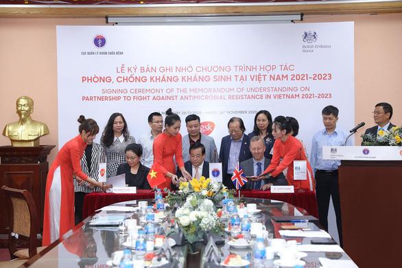 Ký kết chương trình hợp tác phòng, chống kháng kháng sinh tại Việt Nam - Ảnh 1.