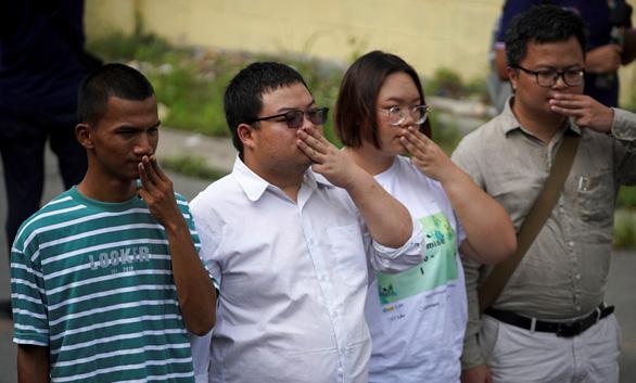 Thái Lan khởi tố 5 lãnh đạo biểu tình tội khi quân phạm thượng - Ảnh 1.