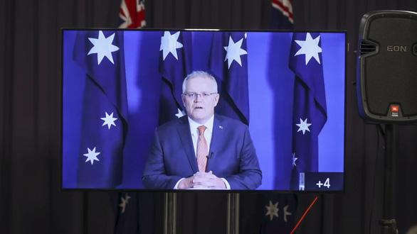 Thủ tướng Morrison phản ứng Bộ Ngoại giao Trung Quốc đăng hình bôi nhọ lính Úc - Ảnh 1.