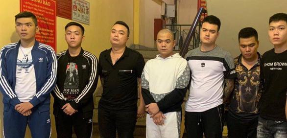 Bắt nhóm Hiếu chùa vua chuyên cho vay với lãi suất cắt cổ hơn 120%/năm - Ảnh 1.
