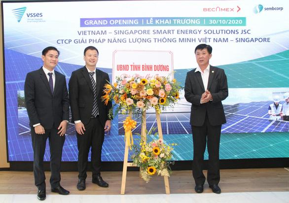 Bình Dương hợp tác Singapore hiện thực hóa năng lượng thông minh - Ảnh 1.