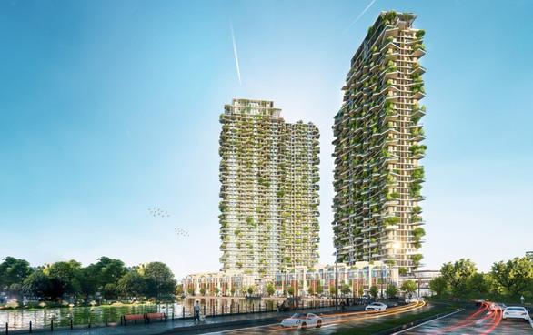 Ecopark xây dựng tháp xanh cao nhất thế giới - Ảnh 1.