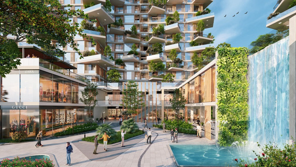 Ecopark xây dựng tháp xanh cao nhất thế giới - Ảnh 10.